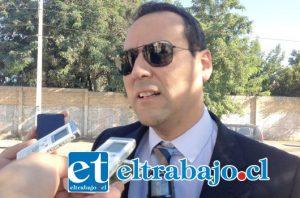 Fiscal jefe de San Felipe, Eduardo Fajardo De La Cuba.