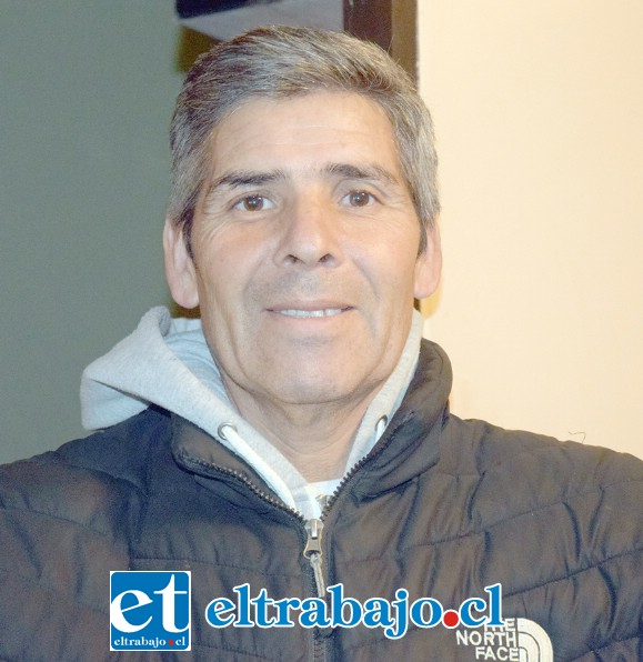 Don José Moreno, exportero del Club Alberto Pentzke.