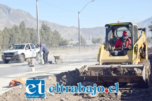 TODO NUEVO.- Este proyecto consiste en la construcción de 492 metros lineales de calle inexistentes, de los cuales 374 metros corresponden a Calle San Martín, desde El Molino a la proyección de la Hermanos Carrera Oriente.