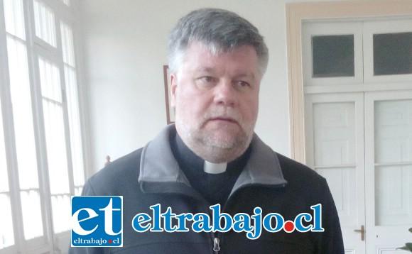 Padre Jaime Ortiz de Lazcano, administrador apostólico de la Diócesis de San Felipe.