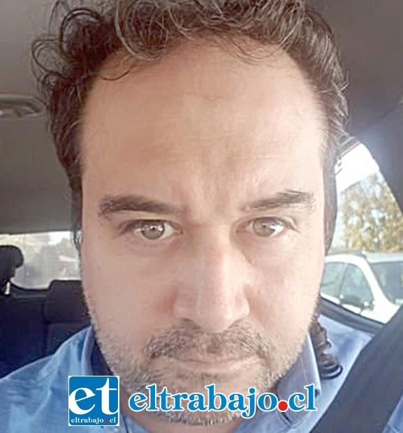 Mauricio Pulgar, foto de su twitter.