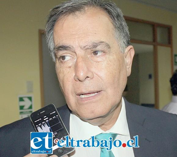 Concejal Christian Beals Campos.