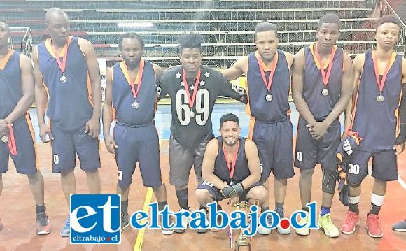 Panteras rápidamente escaló hasta lo más selecto del baloncesto del valle de Aconcagua.
