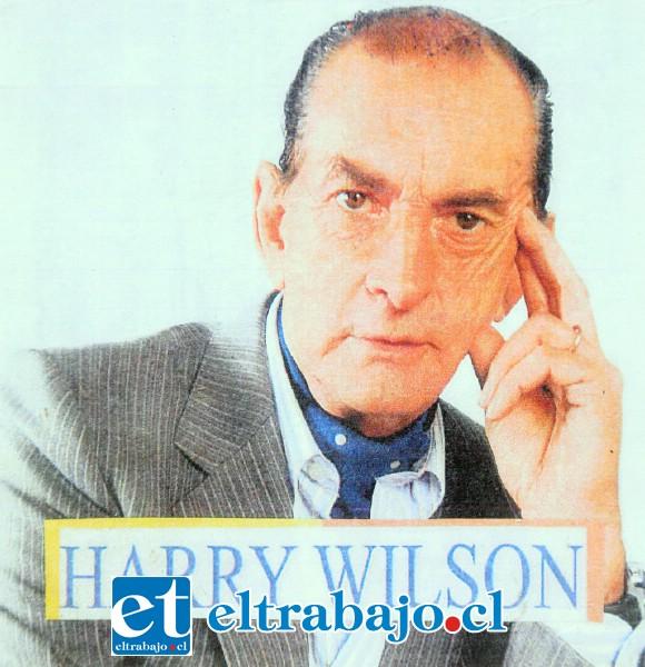 NOS QUEDAMOS SIN ÁRBITRO.- Carlos Enrique Wilson Labbe se presentaba artísticamente como 'Harry Wilson'.