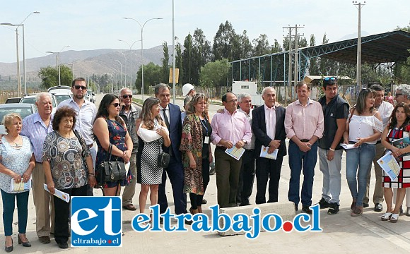 Esta millonaria inversión fue el resultado de la gestión del alcalde Patricio Freire para dar conectividad a distintos sectores de la comuna.