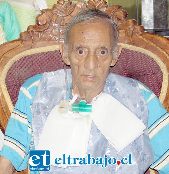 Gerardo Veas, conocido vecino sanfelipeño que necesita de nuestro apoyo.