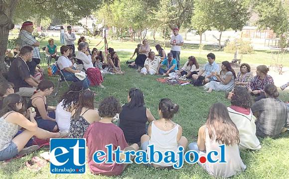 El retorno de Chaya como agua que hidrata a la madre tierra, será la celebración que este sábado realizará la Organización de Pueblos Originarios de Calle Larga Füta Repü en dependencias del Centro Cultural Pedro Aguirre Cerda.