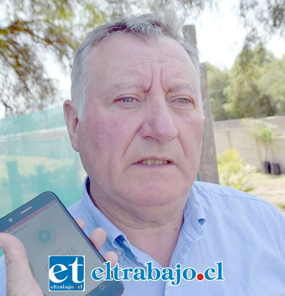 Luis Pradenas Morán, alcalde de Panquehue.