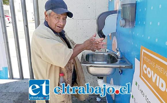LAVAMANOS COMUNITARIOS.- Los sanfelipeños podrían contar en pocos días con lavamanos comunitarios en varios sectores de la ciudad.