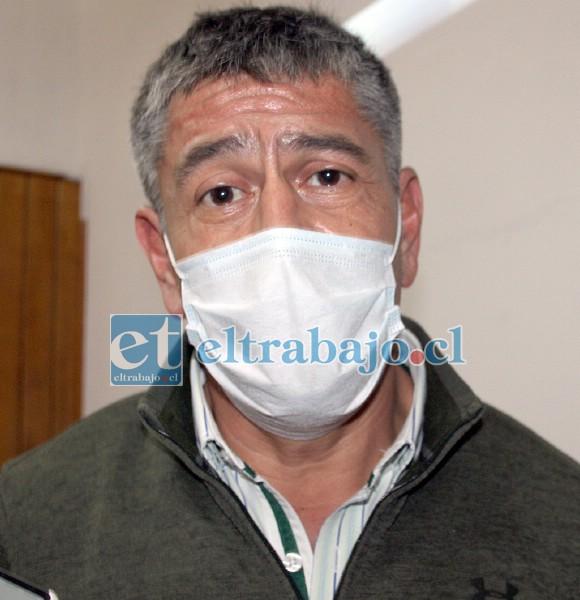Mauricio Mass, coordinador municipal de las ferias.