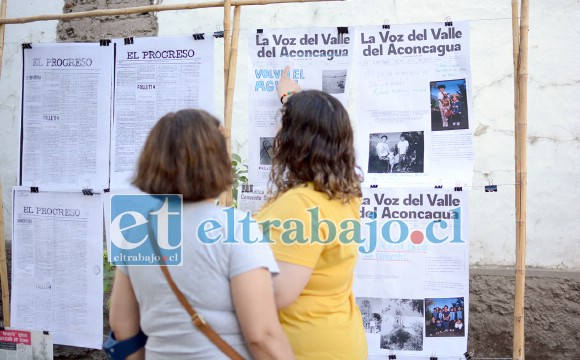 Los organizadores diseñaron una plantilla de portada de un diario ficticio llamado 'La Voz del Valle del Aconcagua', y la idea es que la comunidad plasme ahí los sueños y anhelos que tengan para su territorio mediante sus propios titulares, fotografías o dibujos.