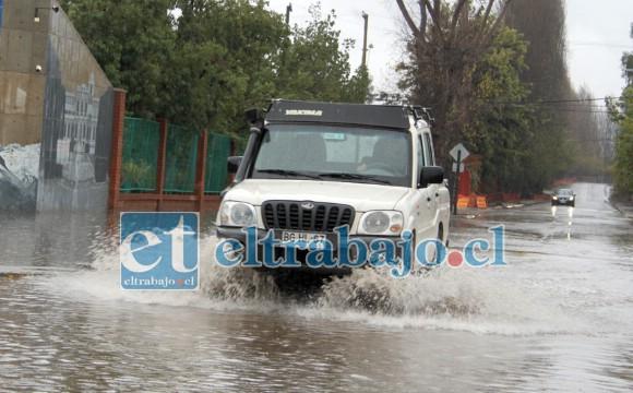 VIENEN MÁS LLUVIAS.- Las lluvias fueron recibidas esta semana con agradecimiento en todo el Valle de Aconcagua, los expertos anuncian más agua para la próxima semana.