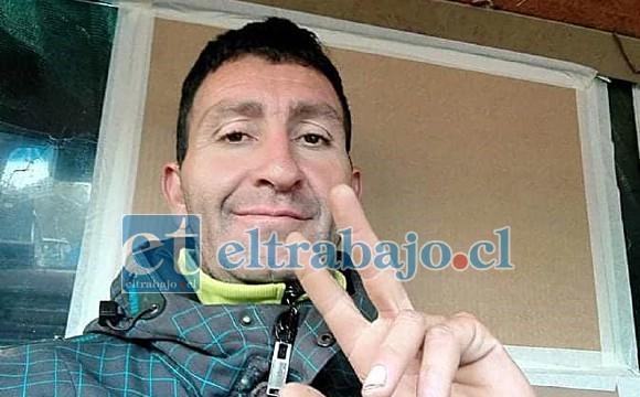 Mauricio Venegas Cordero de 38 años, quien lamentablemente falleció en este accidente de tránsito.