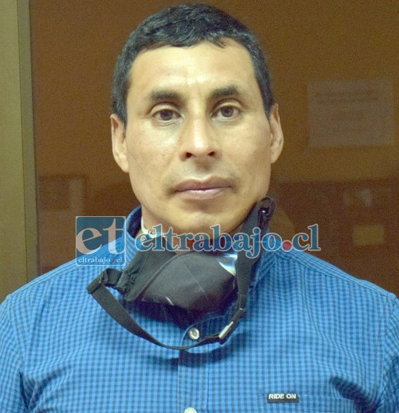 Cristian Barraza, minero sanfelipeño que asegura haber recibido una golpiza por parte de dos militares.
