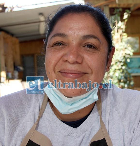 Maritza Vargas, una de las encargadas del Comedor.