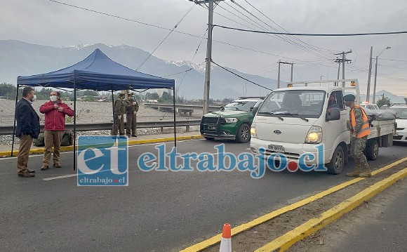 Por al menos una semana más se extenderá la cuarentena en las comunas de San Felipe y Los Andes.
