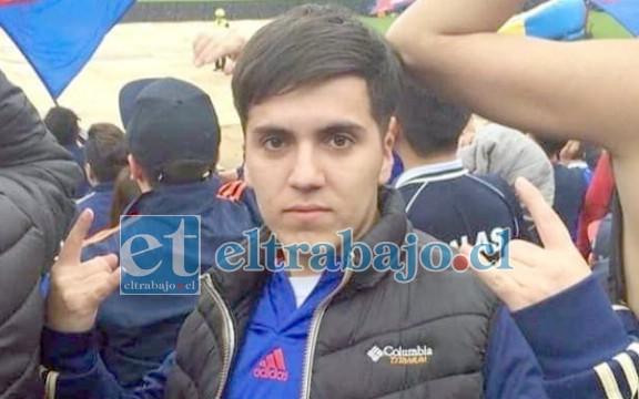 Felipe Ortiz Guajardo, de 21 años, único sobreviviente de la tragedia.
