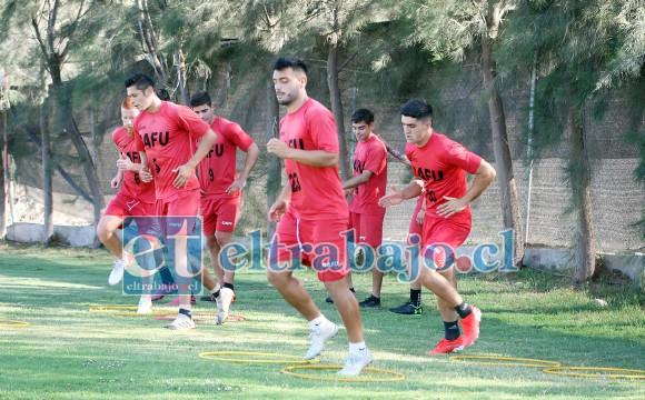 Mañana jueves Unión San Felipe volverá a entrenar en su complejo deportivo.