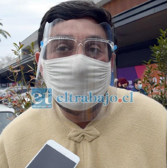 Mario Villanueva, alcalde protocolar de nuestra comuna.