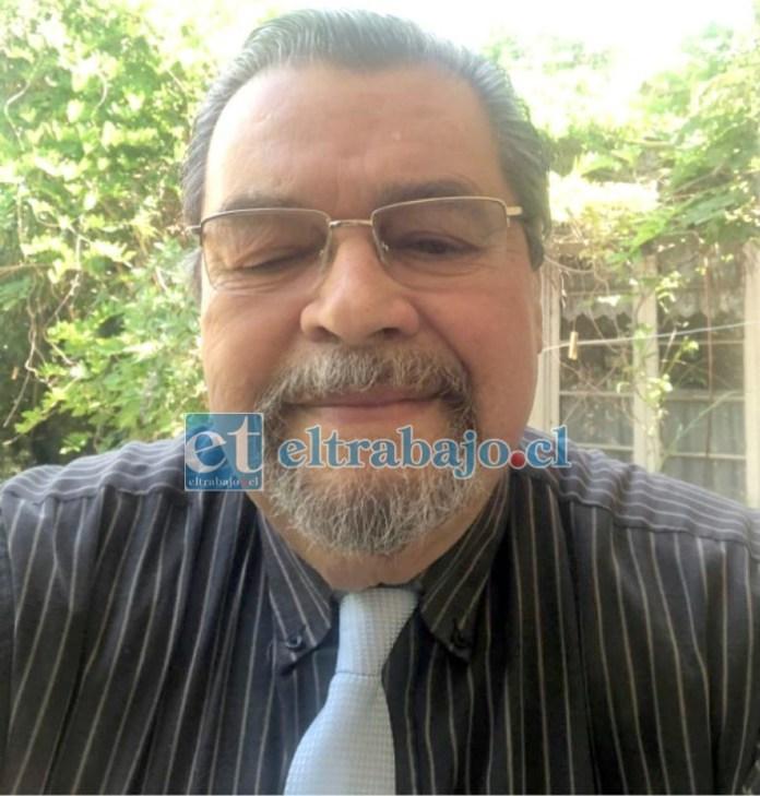 Rolando Stevenson Velasco, consejero DC por la provincia de San Felipe.