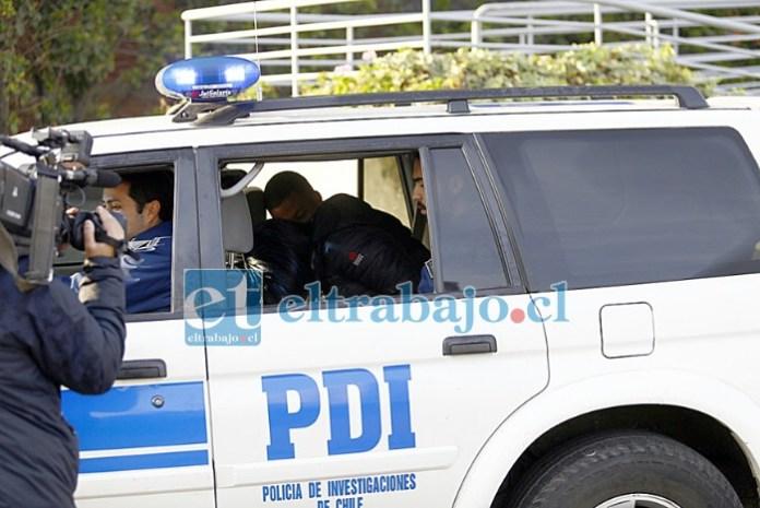 Brigada de Homicidios de la PDI detuvo al autor del asesinato de José Miguel Suazo. Delincuente estaba prófugo hace casi un año. (Referencial)