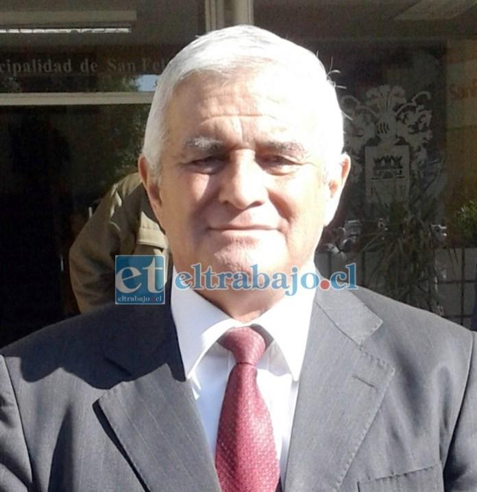 Concejal Dante Rodríguez llamó a la unidad de los deportistas para recuperar el Estadio Fiscal.  (Foto de archivo).