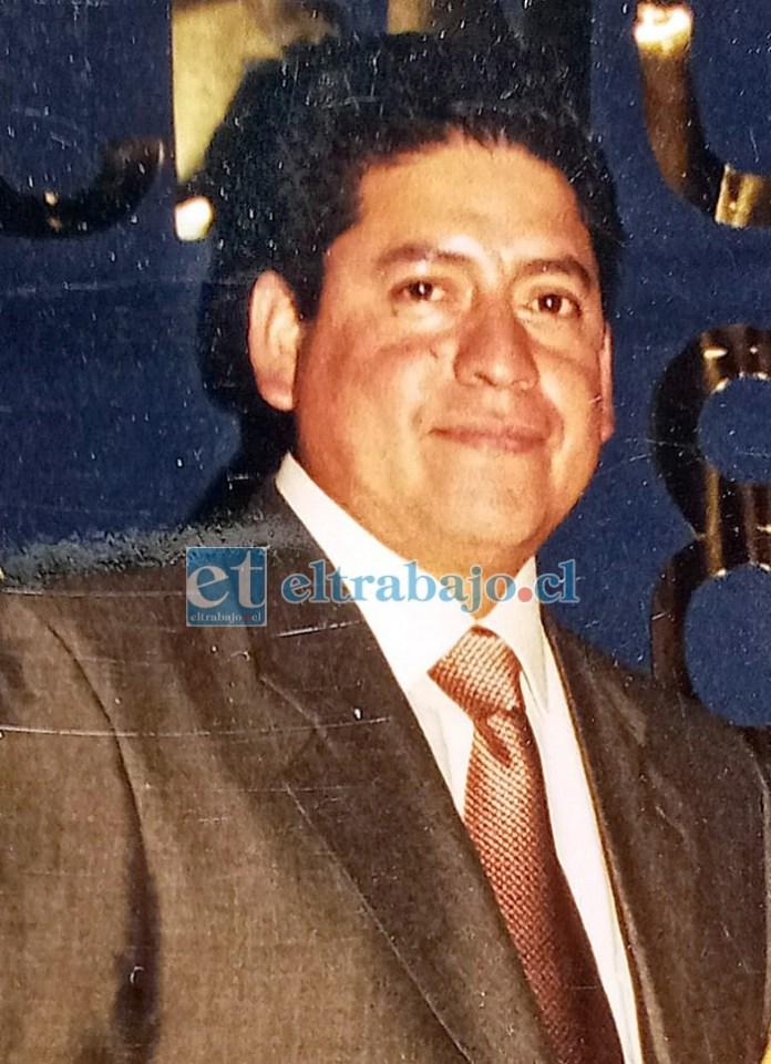 Pedro Molina Espinoza, murió este jueves a la edad de 58 años.