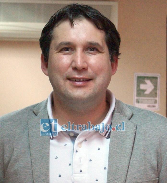 Director subrogante de esta casa de estudios, Andrés Altamirano Flores.