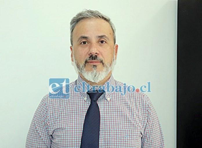 Fiscal Alberto Gertosio Páez, a cargo del caso.