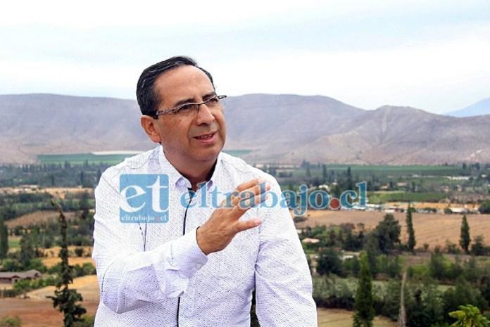 Mauricio Quiroz, alcalde de Putaendo.