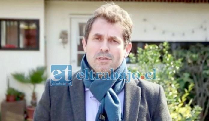 George Hubner, Seremi de Salud Quinta Región.