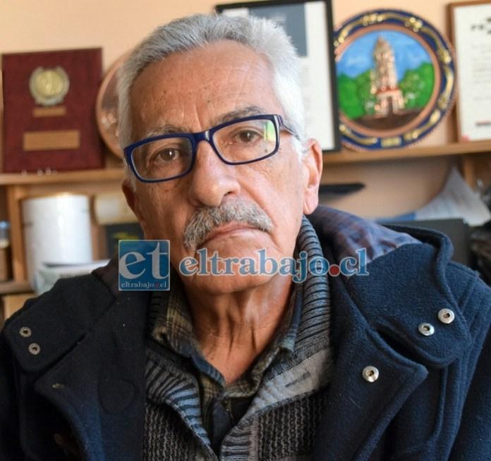 Ricardo Ruiz Lolas, periodista y escritor sanfelipeño.