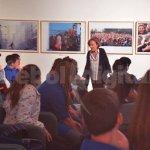 """El taller """"30 Años. Fotoperiodismo en democracia"""", pasó por la ciudad"""