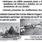 Se inaugura en Los Cardos el monumento al