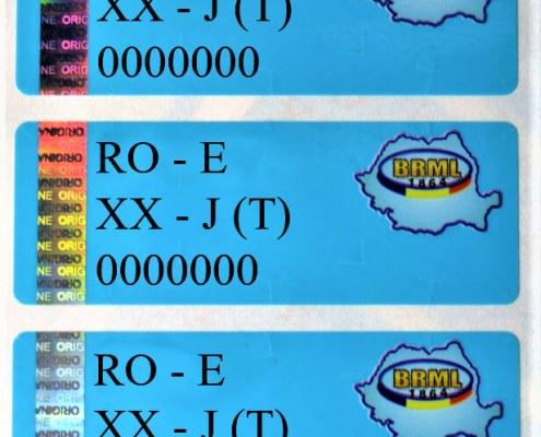 Eltronis security seal for the authentication of metrology devices Sicherheitssiegel biztonsági címke sigiliu eltronis