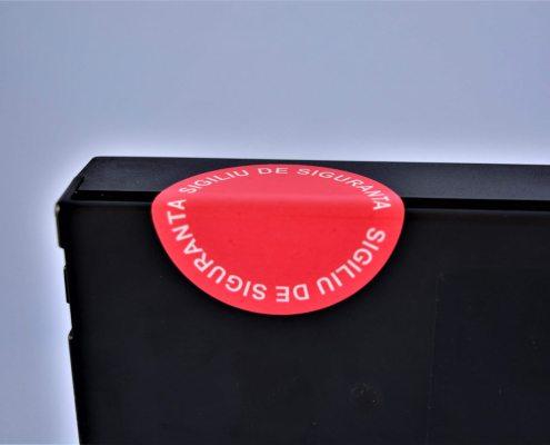 security seals sicherheitssiegel Biztonsági címkék sigilii etichete