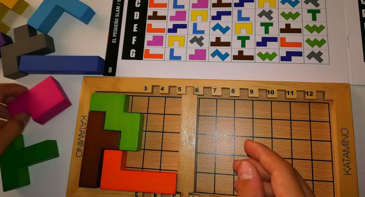 Katamino: un juego de geometría espacial
