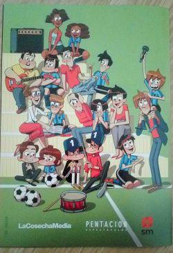 Los futbolísimos, el musical libro niños