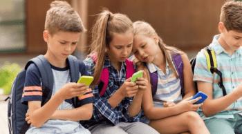 Niños y redes sociales móviles
