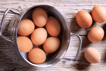 Receta de Halloween huevos