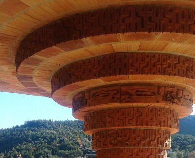 Santuario de Torreciudad Huesca columnas
