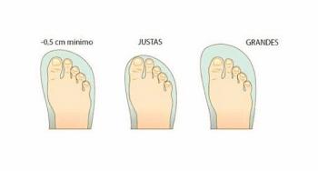 Elegir talla calzado