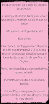 #PremiosMadresfera18 comentarios