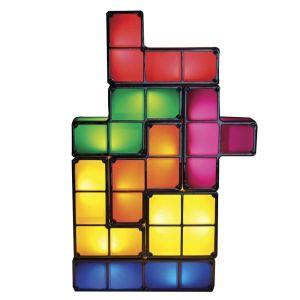 Regalos frikis Día del Padre Lámpara Tetris