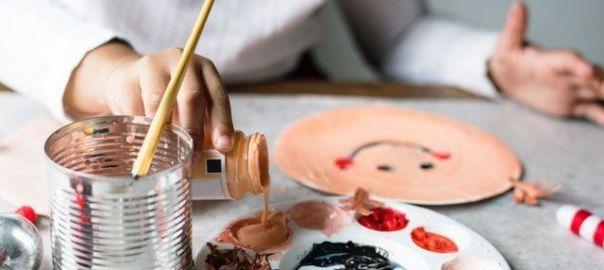 Beneficios de realizar manualidades con hijos