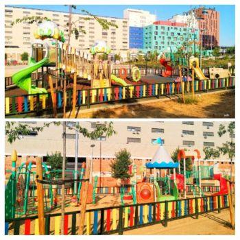 Plaza del Sol Móstoles parque