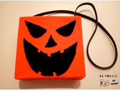 Bolsa Truco o Trato DIY Halloween