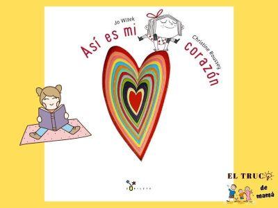 Así es mi corazón libro infantil