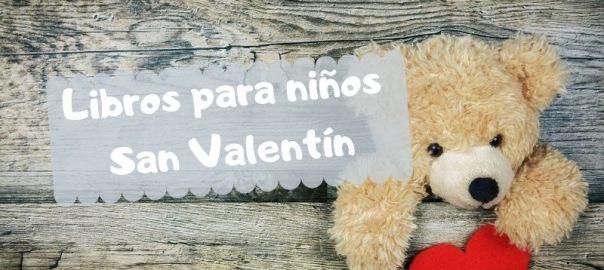 Libros para niños en San Valentín