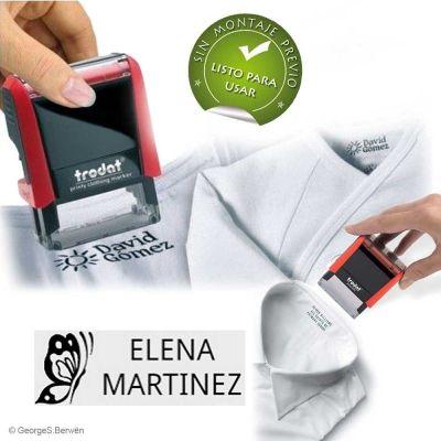 Sellos personalizados para marcar la ropa